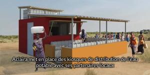Kiosques eau potable afrique