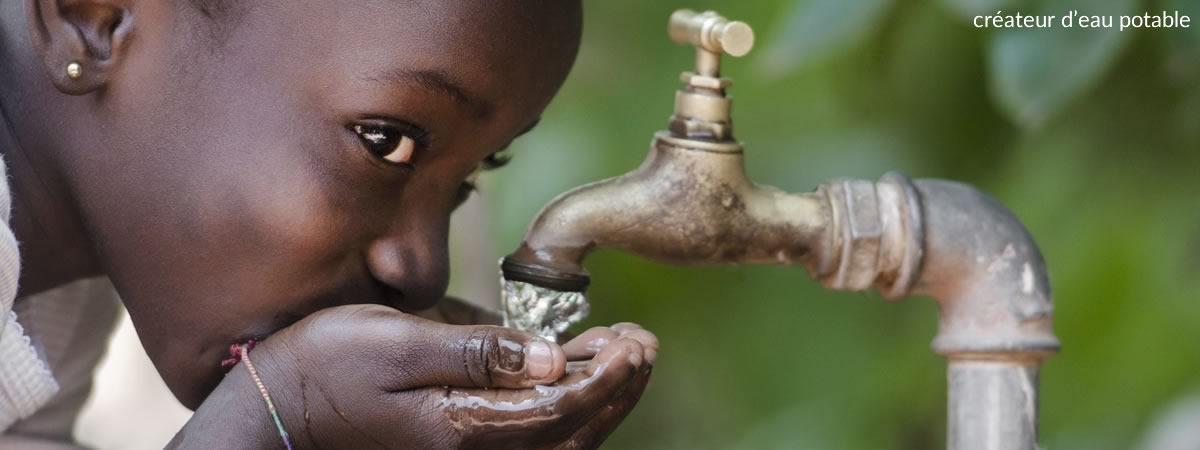 Aclaira créateur d'eau potable