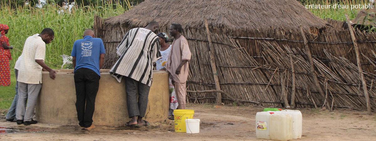 Il y a encore 1,8 milliards de personnes sans eau potable!